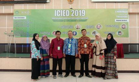 Keikutsertaan Mahasiswa Sastra Arab dalam ICIED Nov 2019